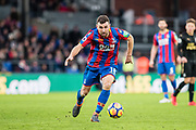 Crystal Palace #18 James McArthur during the Premier League match between Crystal Palace and Newcastle United at Selhurst Park, London, England on 4 February 2018. Picture by Sebastian Frej.