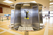 Pay telephone stall inside Union Passenger Terminal