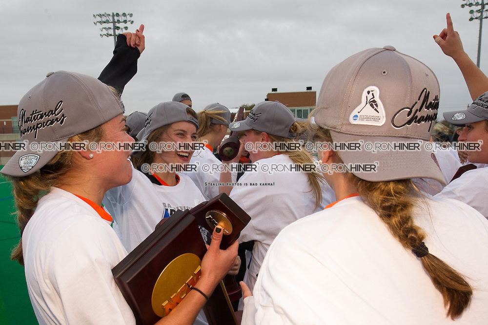 Princeton University defeats University of North Carolina 3-2 in 2012 NCAA Division 1 Field Hockey Championship