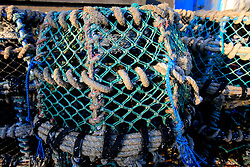 UK CORNWALL NEWLYN 9JUN08 - Crab pots at Newlyn harbour in Cornwall, western England...jre/Photo by Jiri Rezac / WWF UK..© Jiri Rezac 2008..Contact: +44 (0) 7050 110 417.Mobile:  +44 (0) 7801 337 683.Office:  +44 (0) 20 8968 9635..Email:   jiri@jirirezac.com.Web:    www.jirirezac.com..© All images Jiri Rezac 2008 - All rights reserved.