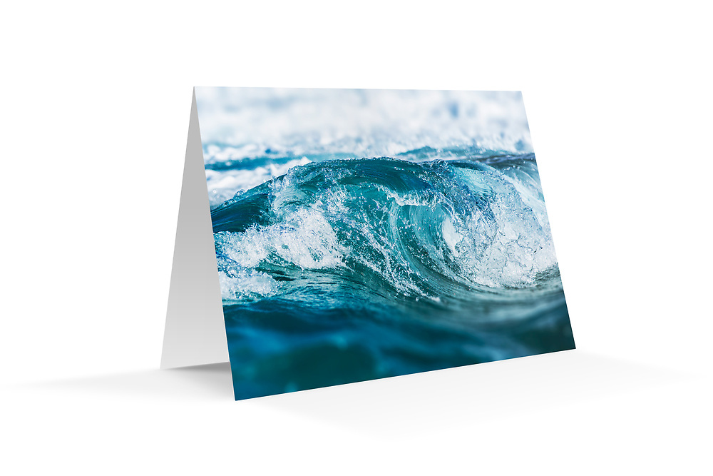 "Photo Art Greeting Card - Sydney Coastal Collection (Liquid Crystal). Printed on 350gsm matte card, 174 x 123mm, blank inside, envelope included, packaged in sealed poly bag. Click ""Add to Cart"" to choose your own mix of 5, 10, or 20 cards from this collection."