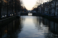 Canal, Amsterdam, the Netherlands<br />