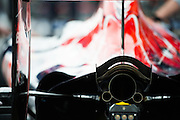 October 27, 2016: Mexican Grand Prix. Scuderia Toro Rosso exhaust detail