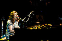 Singer songwriter Regina Spektor plays before a sold out crowd at Montreal's Metropolis. September 17, 2009. © Allen McEachern.