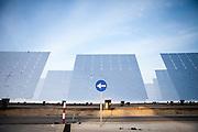 Gemasolar solar plant in Fuentes de Andalusia, Sevilla, Spain.
