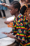 WISE Drum & Dance performs at African Nights