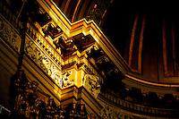 Italia - Roma - Visão interna de igreja em Roma - Foto: Gabriel Lordello/ Mosaico Imagem