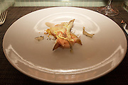 """Twenty-one course meal prepared by master chef Bryan Voltaggio and the staff at Volt in Frederick, MD. This special menu is presented to guests seated at the exclusive """"Table 21"""" which also provides an obstructed view of the kitchen."""