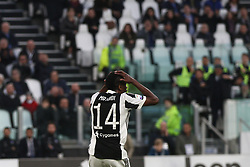 March 14, 2018 - Turin, Italy - Juventus midfielder Blaise Matuidi (14) shows dejection during the Serie A football match n.26 JUVENTUS - ATALANTA on 14/03/2018 at the Allianz Stadium in Turin, Italy. (Credit Image: © Matteo Bottanelli/NurPhoto via ZUMA Press)