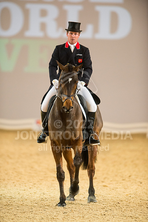 Oliver Townend (GBR) & ODT Sonas Rovatio - Express Eventing - Horse World Live - ExCel London - 17 November 2012