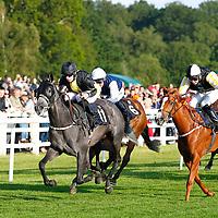 Serene Oasis and Matthew Davies winning the 7.25 race