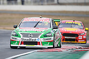 19th May 2018, Winton Motor Raceway, Victoria, Australia; Winton Supercars Supersprint Motor Racing; Rick Kelly drives the number 15 Nissan Motorsport Nissan Altima during race 13 of the 2018 Supercars Championship