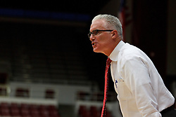 Nov 15, 2011; Stanford CA, USA;  Southern Methodist Mustangs head coach Matt Doherty on the sidelines against the Fresno State Bulldogs during the first half of a preseason NIT game at Maples Pavilion.  Fresno State defeated Southern Methodist 54-52. Mandatory Credit: Jason O. Watson-US PRESSWIRE