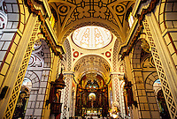 Moorish style interior, San Francisco Church, Centro, Lima, Peru