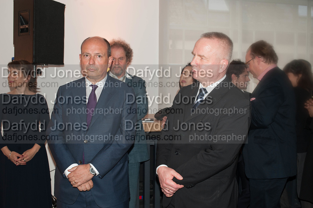Frank Klaas;  Andreas Preuss; , Deutsche Börse photography prize: 2013. Photographer's Gallery. London. 11 June 2013.