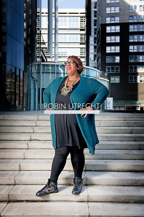 ROTTERDAM - Portret van Shirma Rouse COPYRIGHT ROBIN UTRECHT