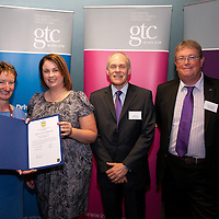 Images from the 2014 GTSC Probabtion Event Pictured are Jackie Brock (Chief Executive of Children First), Karen Howe (Falkirk),,Ken Muir (Chief Executive GTCS) and Derek Thompson (Convener GTCS). Thursday 12th June 2014.