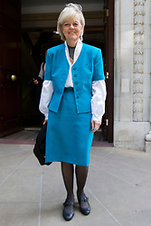 © Licensed to London News Pictures. 18/07/2019. London, UK. Labour Peer Baroness Hayter leaves Four Millbank . She leaves after she was sacked from her position as Shadow Brexit Minister after criticising Mr Corbyn's teams response to allegations of anti-Semitism . Photo credit: George Cracknell Wright/LNP