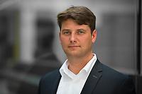 DEU, Deutschland, Germany, Berlin, 04.06.2018: Portrait von Rene Aust, Thüringens stellvertretender Landesvorsitzender der Jungen Alternative (JA), der Jugendorganisation der Partei Alternative für Deutschland (AfD).