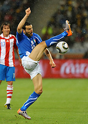 Football - soccer: FIFA World Cup South Africa 2010, Italy (ITA) - Paraguay (PRY), GIANLUCA ZAMBROTTA