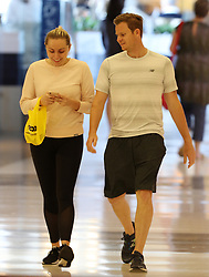 EXCLUSIVE: Former Australian cricket captain Steve Smith and fiancé Danielle Willis pictured together for the first time since the ball tampering incident in South Africa. Steve and Danielle were pictured shopping at several shops in Westfield, Bondi Junction. 04 May 2018 Pictured: Steve Smith; Danielle Willis. Photo credit: MEGA TheMegaAgency.com +1 888 505 6342