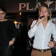 NLD/Amsterdam/20120329 - CD presentatie Roxeanne & Andre Hazes Jr., zingend
