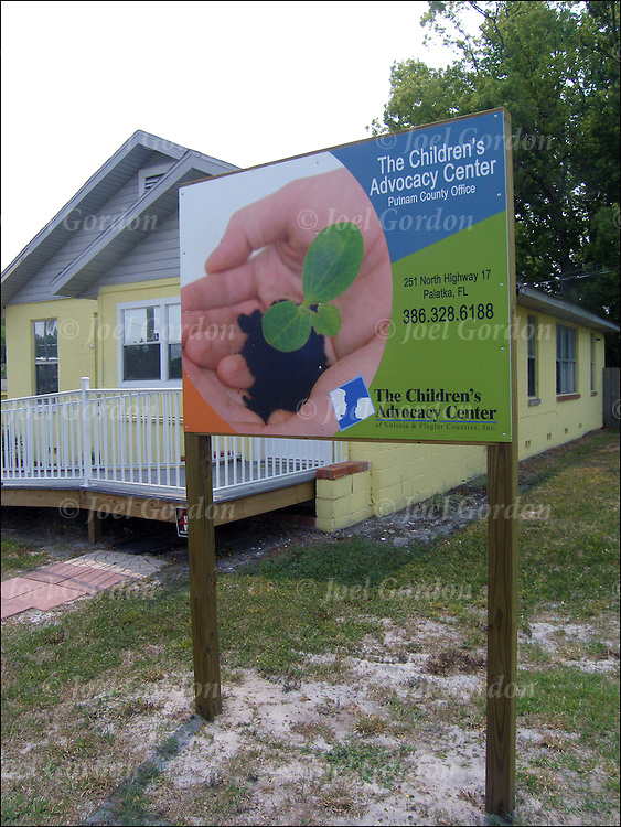 Exterior of Child Advocacy Center in  Palatka, Putnam County Florida