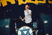 Josh Macintyre/Marmozets performing live at the Rock A Field Festival in Roeser, Luxembourg on July 5, 2015