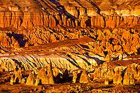 Rock formations, Goreme Valley, Cappadocia, Turkey