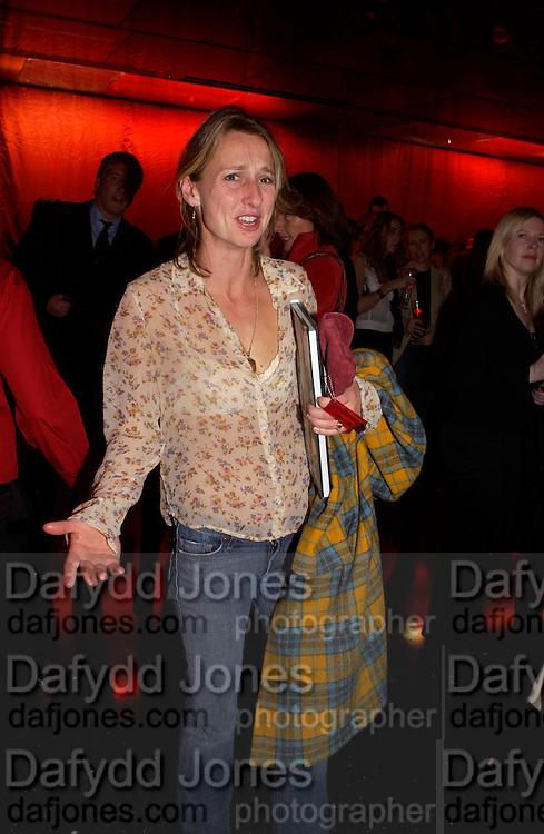 Daisy Waugh, Superbrands, Selfridges. 13 November 2003. © Copyright Photograph by Dafydd Jones 66 Stockwell Park Rd. London SW9 0DA Tel 020 7733 0108 www.dafjones.com