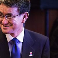 Taro Kono foreign affairs  minister  of Japan
