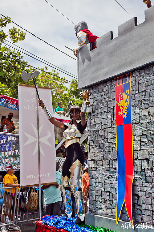 Renata Christian of the St. John Carnival 2012 © Aisha-Zakiya Boyd