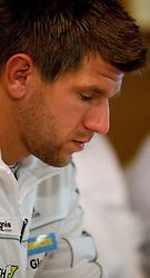 09.09.2010, Gleisdorf, AUT, Davis Cup, Pressekonferenz Tennis Davis Cup, im Bild Juergen Melzer, EXPA Pictures 2010, PhotoCredit: EXPA/ S. Trimmel