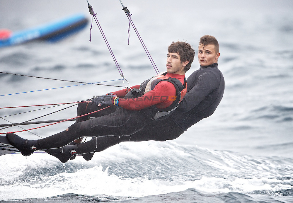 CIUDAD DE SANTANDER Trophy, Isaf sailing World Championships test event