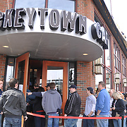 Hockeytown Cafe during Tigers opening day 2009.