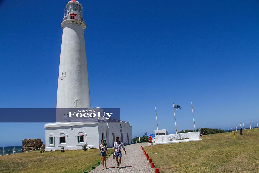 Rocha,  Uruguay. 11 de Enero de 2018.  <br /> Balneario La Paloma. Ciudad.<br /> Faro de La Paloma<br /> Foto: Gast&oacute;n Britos / FocoUy
