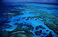Great Barrier Reef Arial View.Quuensland, Australia