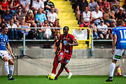 OSTERSUND, SWEDEN - JULY 21: Ronald Mukilbi of Ostersunds FK  during the Allsvenskan match between Ostersunds FK and Trelleborgs FF on July 21 at Jamtkraft Arena, 2018 in Gothenburg, Sweden. Photo by Johan Axelsson/Ombrello ***BETALBILD***