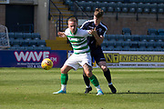 SPFL reserve cup - Dundee v Celtic at Dens Park, Dundee, Leigh Griffiths of Celtic and Sam Fisher of Dundee