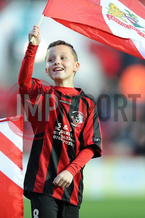 Guard of Honour - Mandatory by-line: Dougie Allward/JMP - 05/04/2016 - FOOTBALL - Ashton Gate Stadium - Bristol, England - Bristol City v Rotherham United - Sky Bet Championship