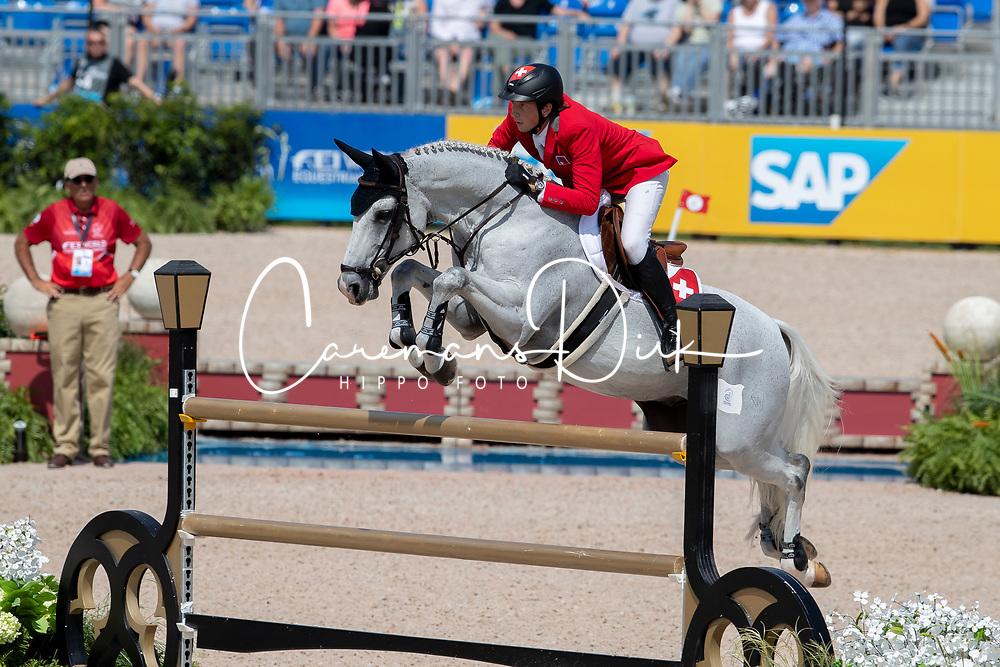Fuchs Martin, SUI, Clooney<br /> World Equestrian Games - Tryon 2018<br /> © Hippo Foto - Dirk Caremans<br /> 23/09/2018
