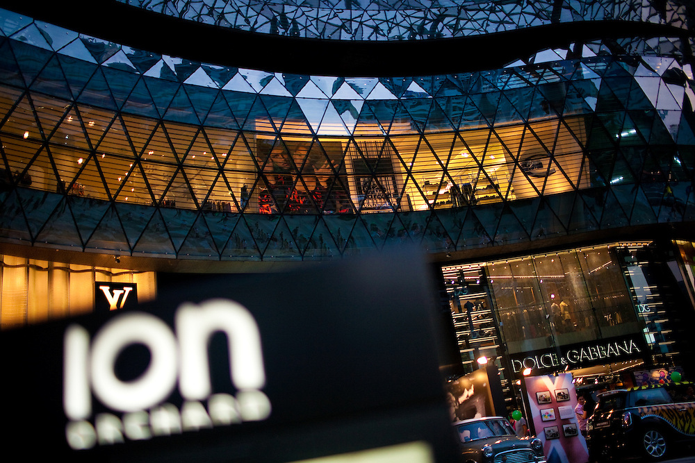 ION Orchard is the newest mall on Singapore's famous Orchard Road