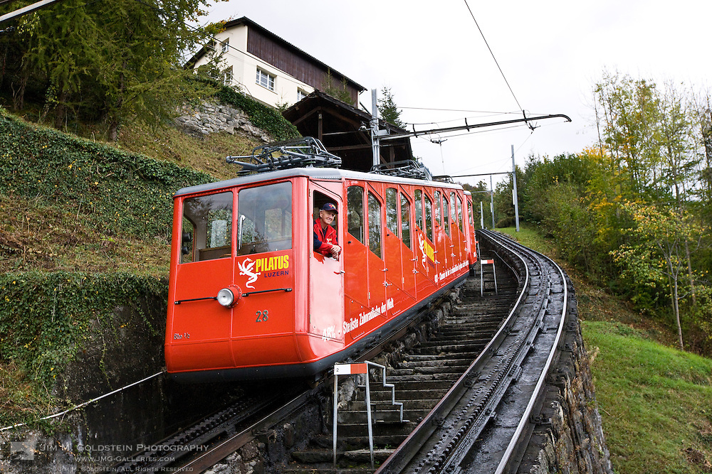 Worlds steepest train track. 48% slope!