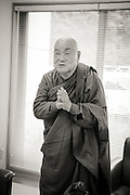 The Japanese monk Surai Sasai at Mount Koya, Japan<br /> Photo by Christina Sj&ouml;gren