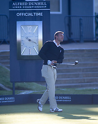 Andriy Shevchenko. Alfred Dunhill Links Championship this morning at St Andrews.