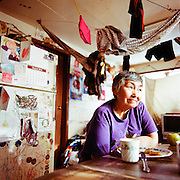 SHISHMAREF, ALASKA - 2010: Ardith Weyiouanna.