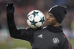 November 22, 2017 - Basel, BS, Schweiz - Basel, Fussball UEFA Champions League, FC Basel - Manchester United. 22.11. 2017. Manchesters Marcus Rashford. (Credit Image: © Daniel Teuscher/EQ Images via ZUMA Press)