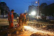 Gleisbau zweite Nacht