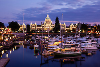 Parliament Building Lights, Victoria, British Columbia