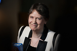 Helen Clark, former Prime Minister of New Zealand and Administrator of the United Nations Development Programme (UNDP), candidate for the position of the next secretary-general, addresses the press at the United Nations headquarters in New York, April 14, 2016. The UN General Assembly on Tuesday kicked off a three-day informal dialogue with candidates for the position of the next secretary-general. EXPA Pictures © 2016, PhotoCredit: EXPA/ Photoshot/ Li Muzi<br /> <br /> *****ATTENTION - for AUT, SLO, CRO, SRB, BIH, MAZ, SUI only*****